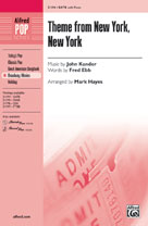 Theme from New York, New York - SATB