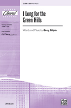 I Long for the Green Hills  - SSA