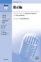All of Me - SAB (SATB recording)
