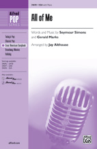 All of Me - SSA (SATB recording)